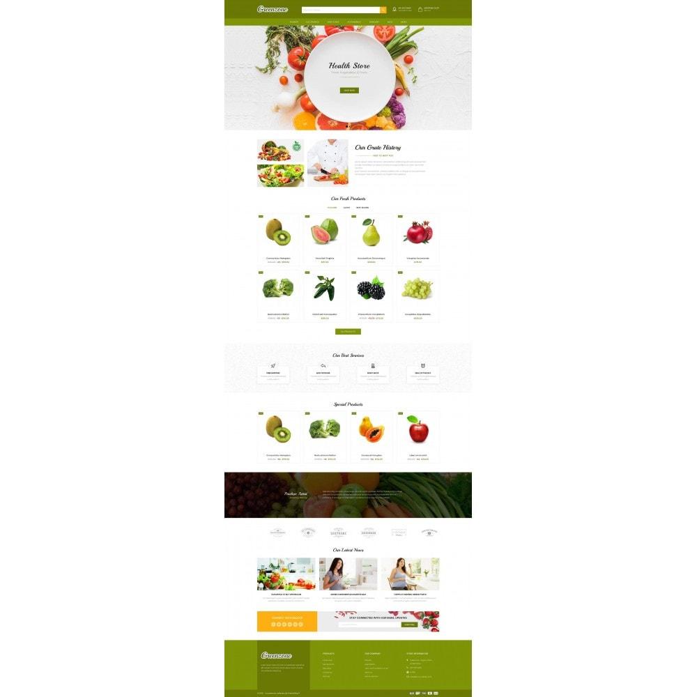 theme - Food & Restaurant - GreenZone - Organic Store - 2