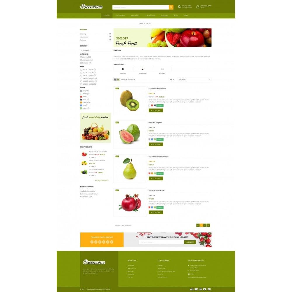 theme - Food & Restaurant - GreenZone - Organic Store - 4