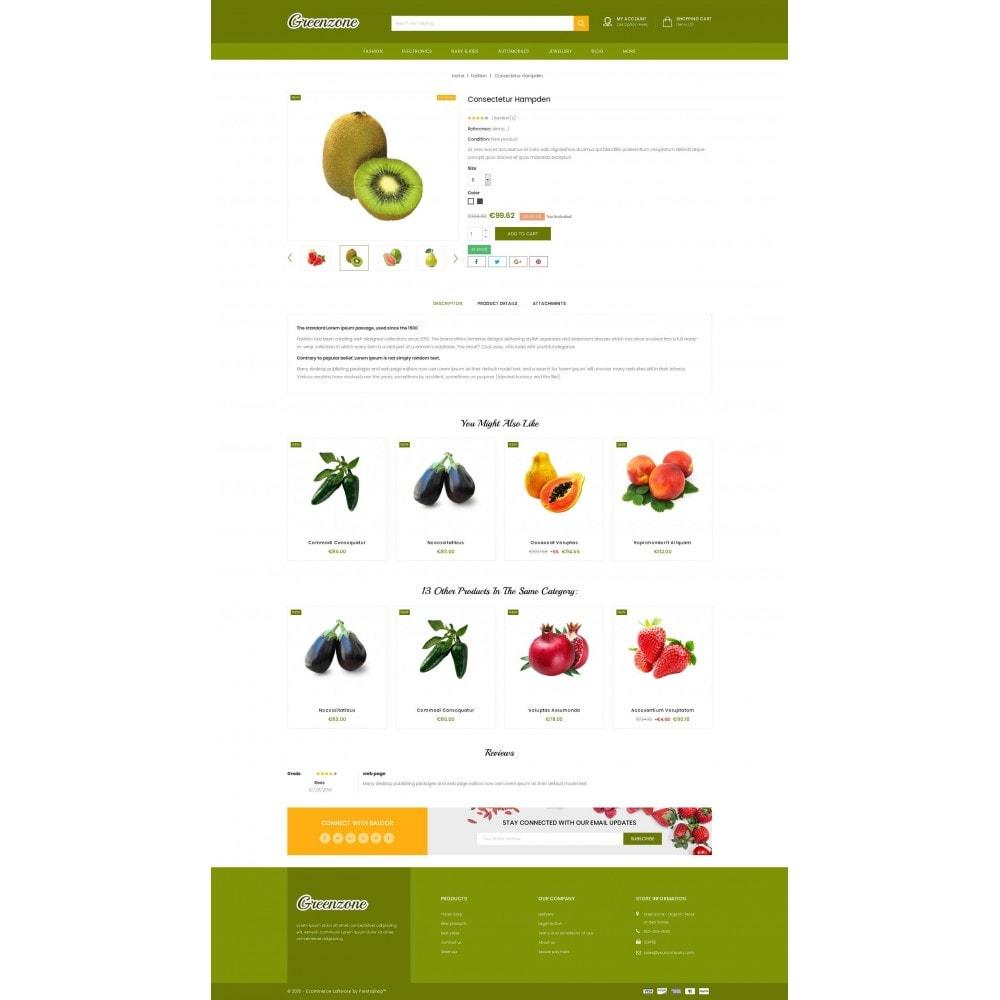 theme - Food & Restaurant - GreenZone - Organic Store - 5