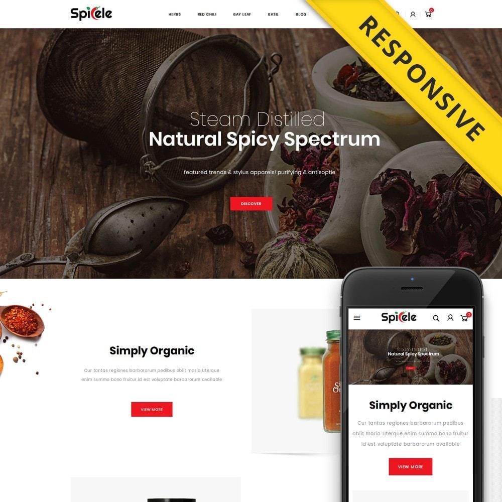 theme - Alimentos & Restaurantes - Spicele - Grocery store - 1