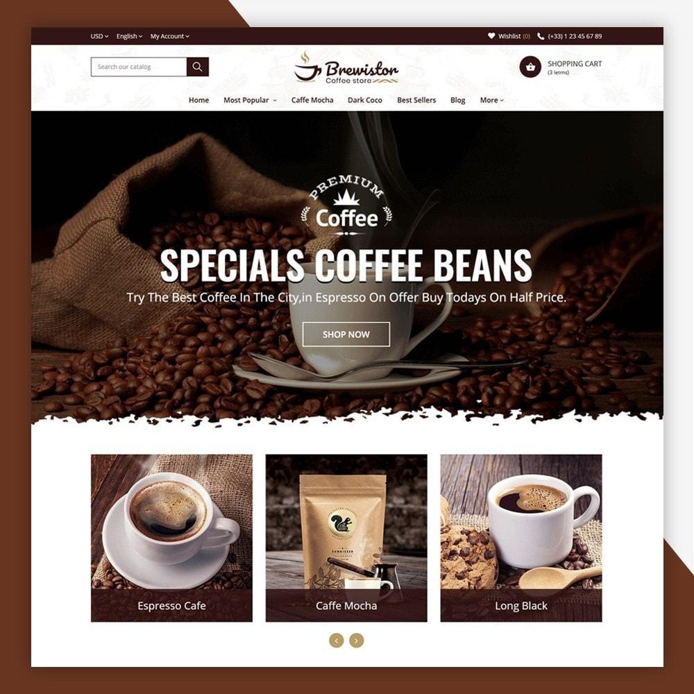 theme - Alimentos & Restaurantes - Brewistor - Coffee Store - 2