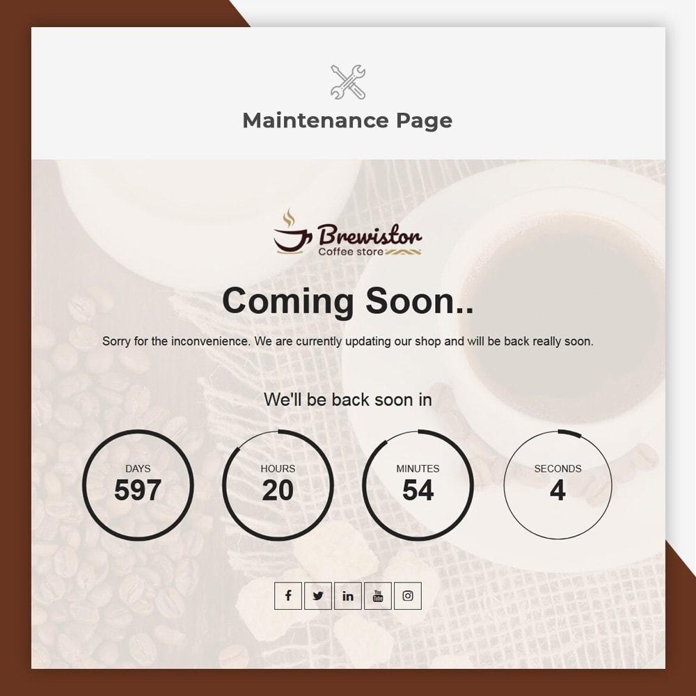 theme - Alimentos & Restaurantes - Brewistor - Coffee Store - 10
