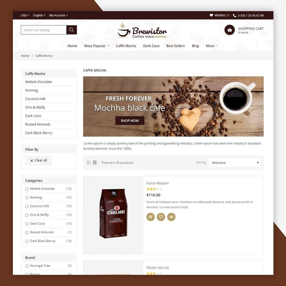 theme - Alimentation & Restauration - Brewistor - Coffee Store - 7