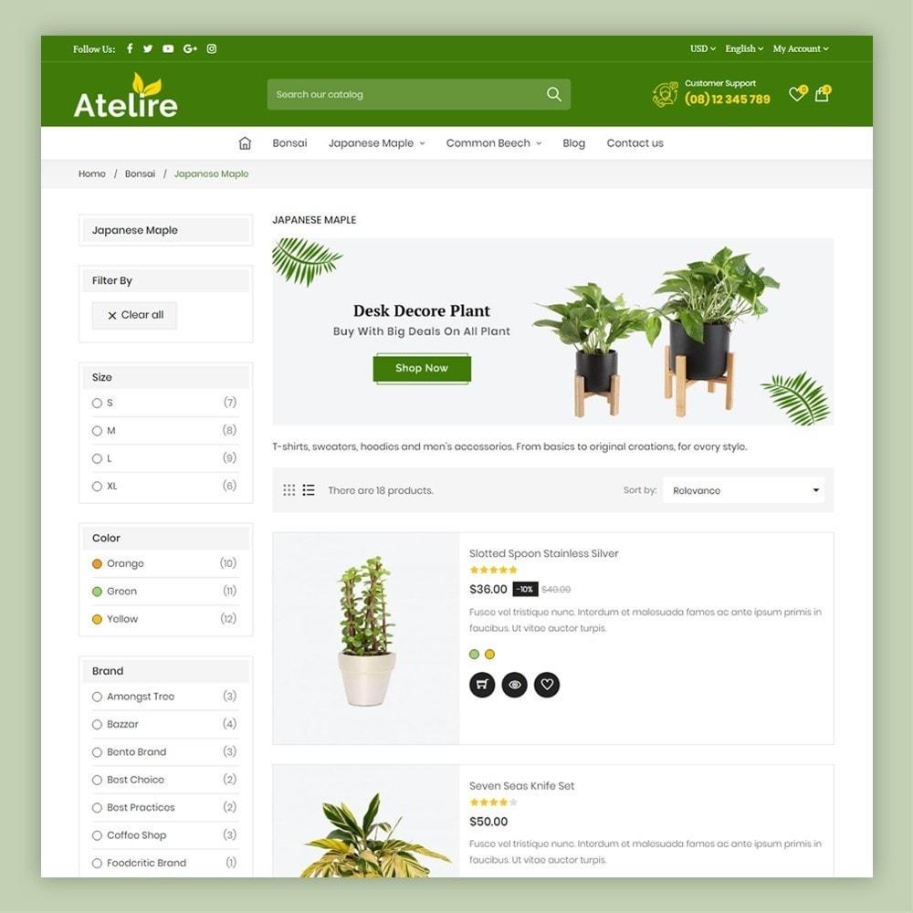 theme - Casa & Jardins - Atelier Plant Nursery & Garden Store - 6