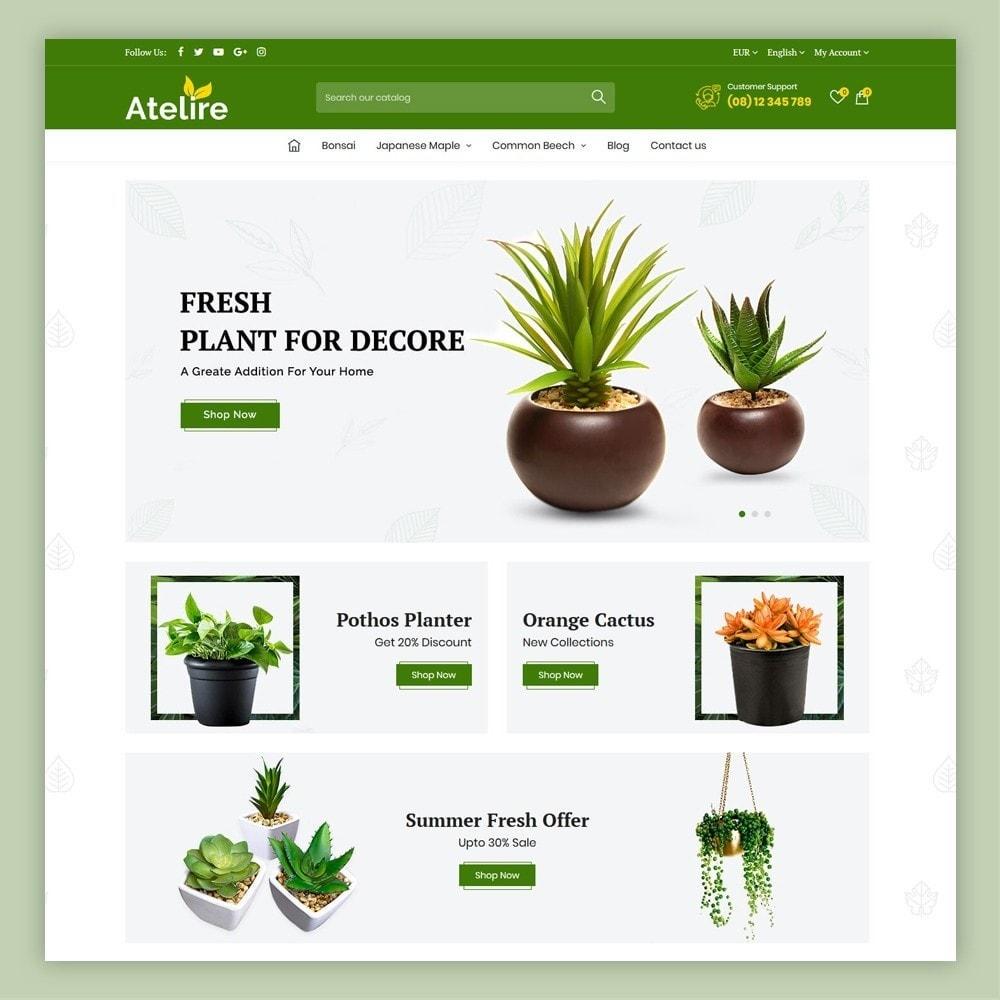 theme - Maison & Jardin - Atelier Plant Nursery & Garden Store - 3