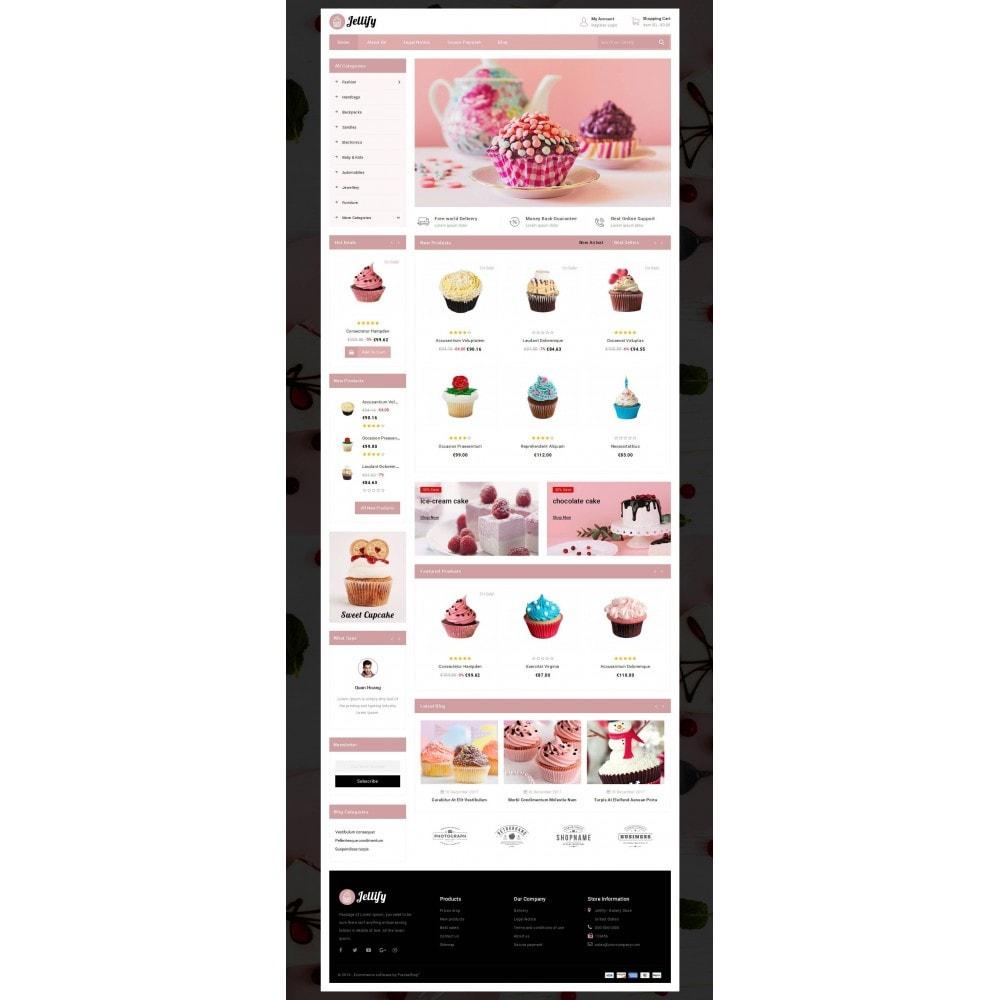 theme - Alimentos & Restaurantes - Jellify - Bakery Store - 2