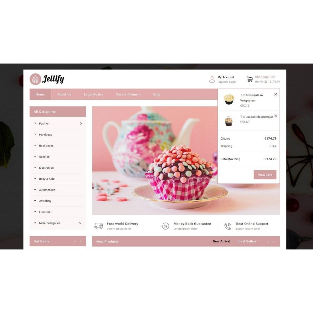 theme - Alimentation & Restauration - Jellify - Bakery Store - 7
