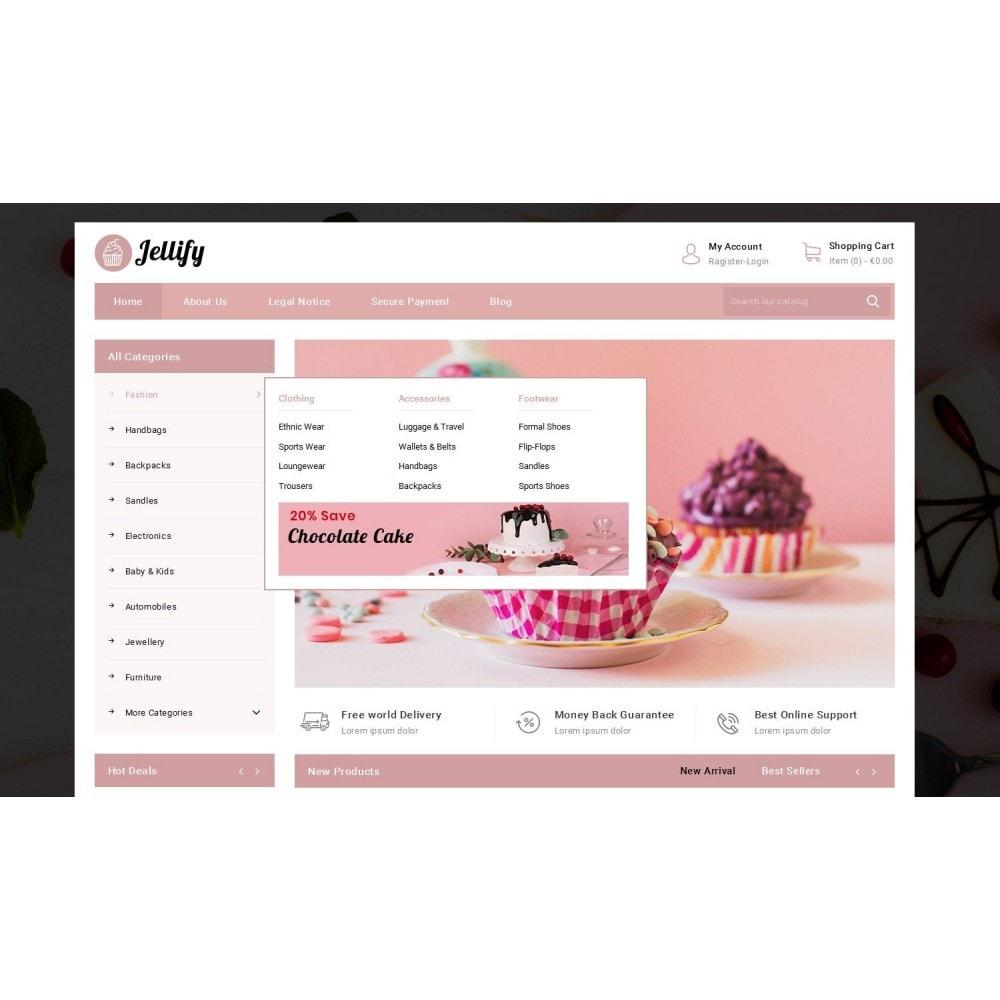 theme - Alimentation & Restauration - Jellify - Bakery Store - 8