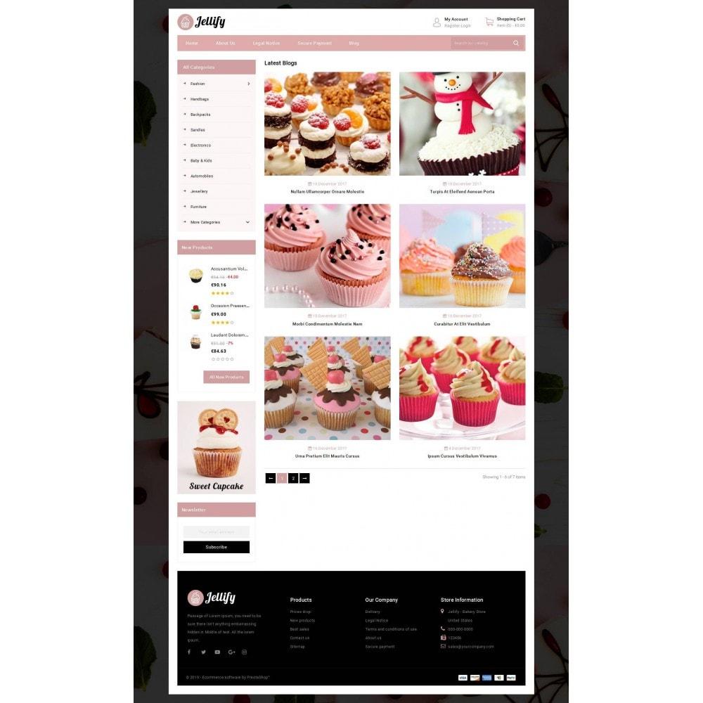 theme - Alimentos & Restaurantes - Jellify - Bakery Store - 9
