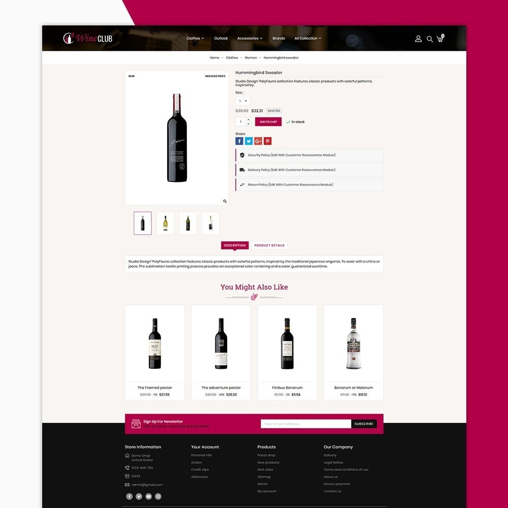 theme - Bebidas y Tabaco - Wine Club Store - 5