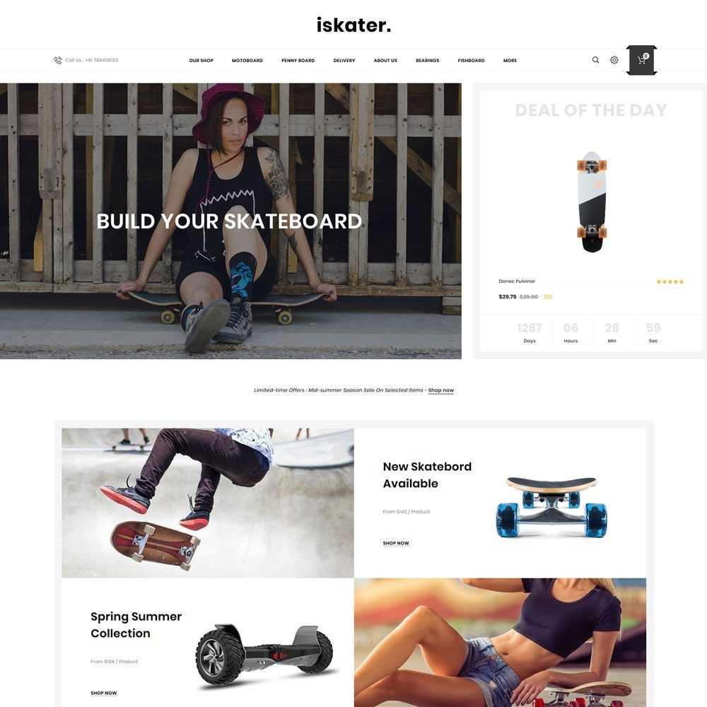 theme - Sports, Activities & Travel - Iskater - The Sport Shop - 2