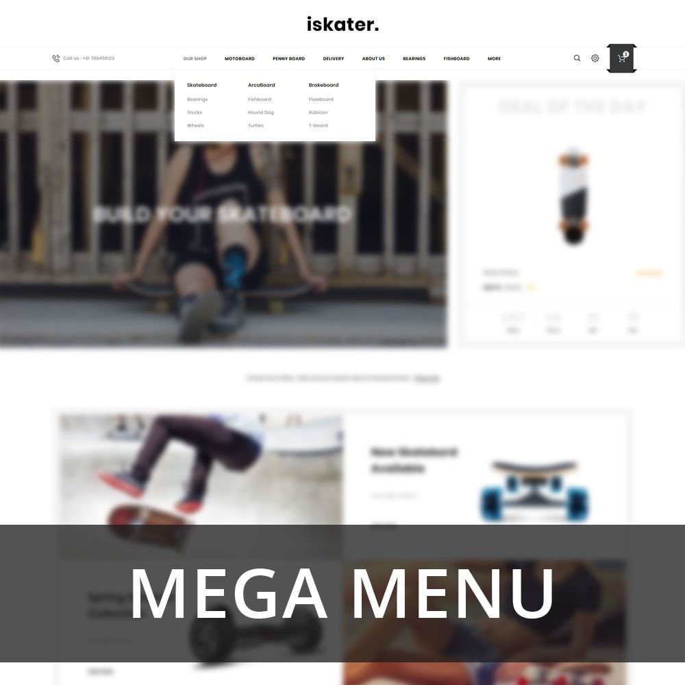 theme - Sports, Activities & Travel - Iskater - The Sport Shop - 8