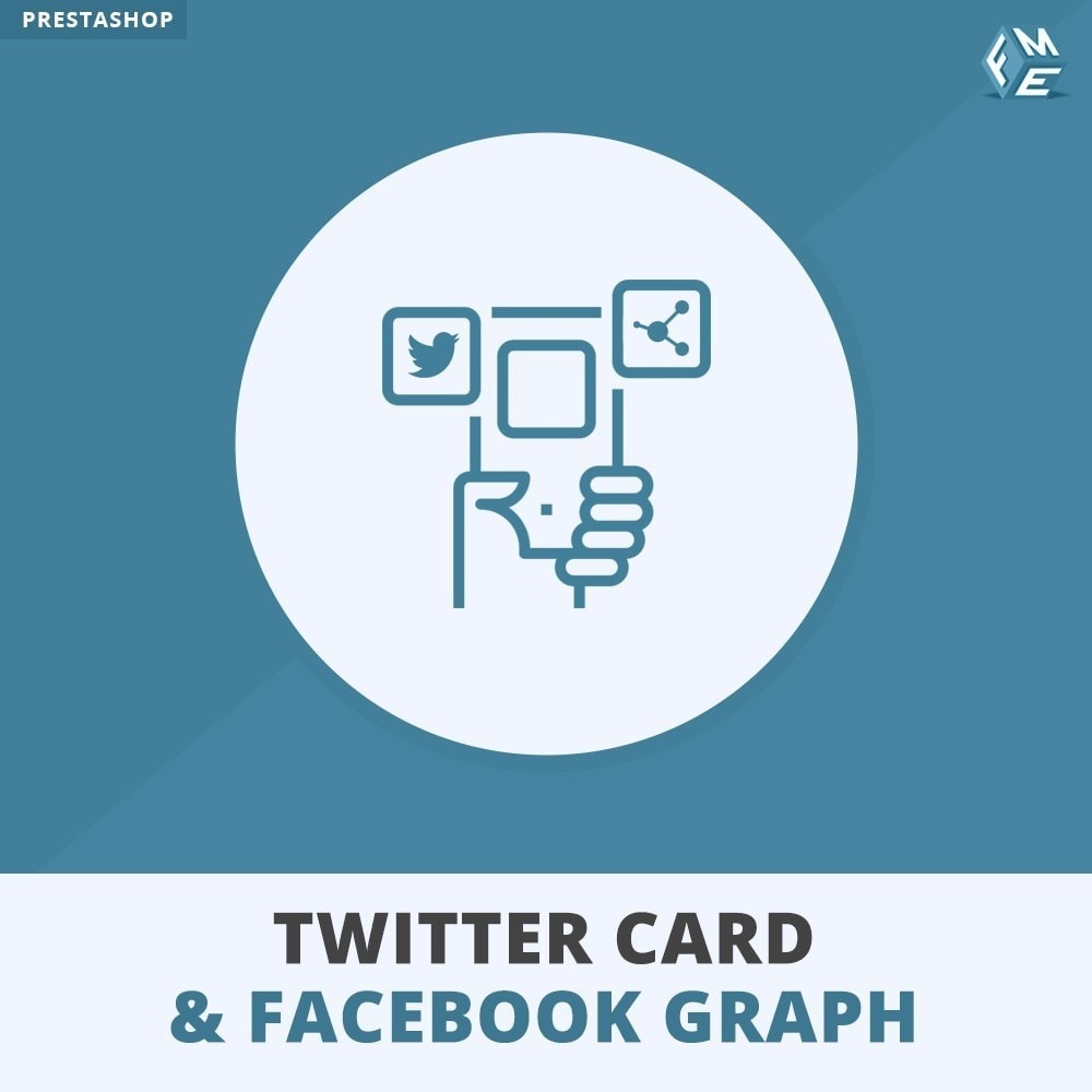 module - Widgets para redes sociales - Twitter Card and Social Media Graph - 1
