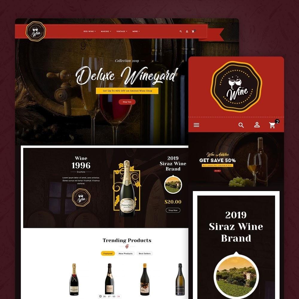 theme - Getränke & Tabak - Wineyard & Drinks - 1