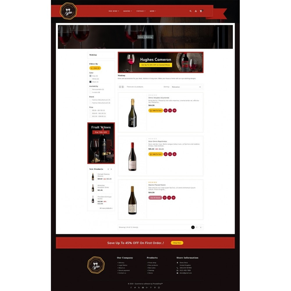 theme - Getränke & Tabak - Wineyard & Drinks - 4