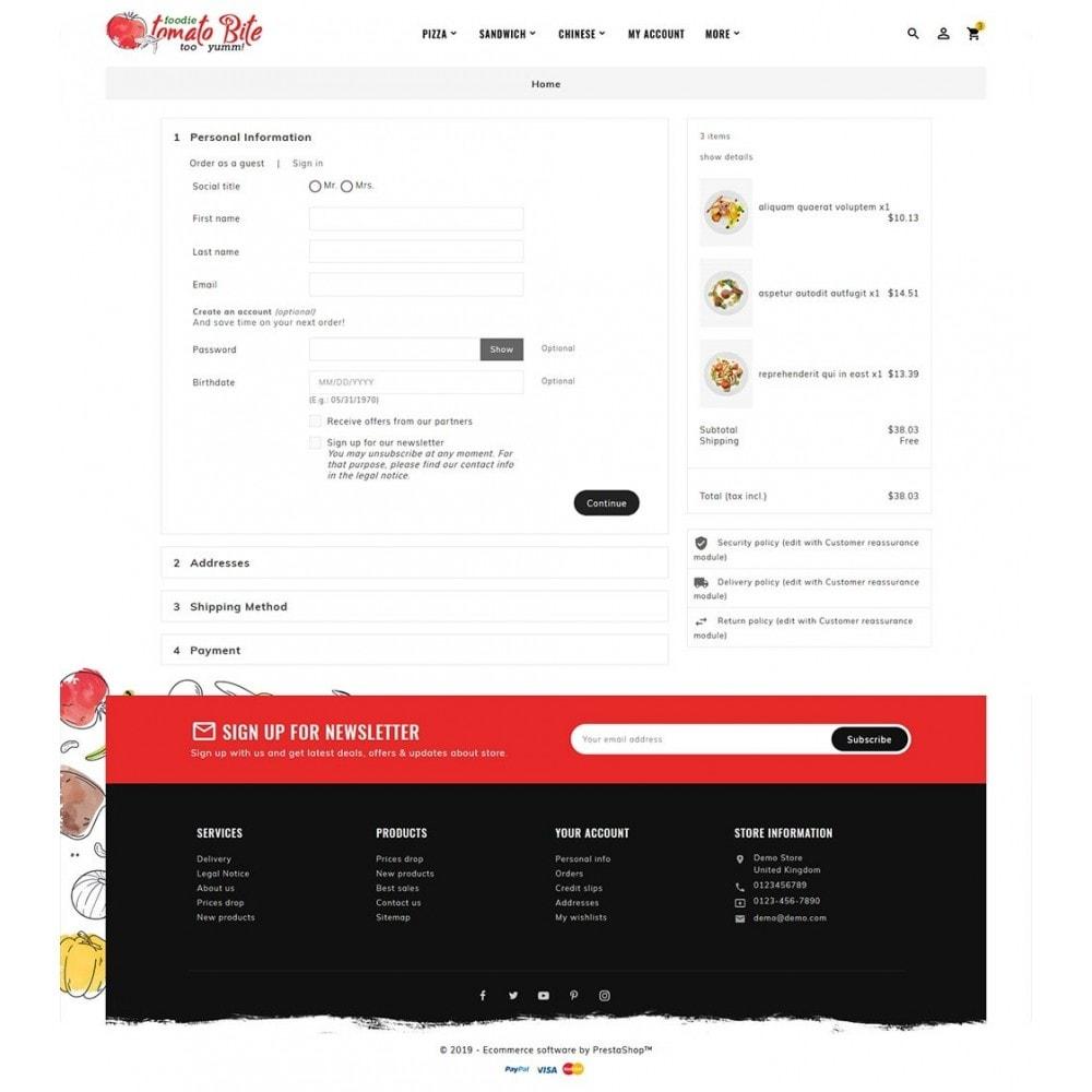 theme - Продовольствие и рестораны - Tomato Bite - Delicious Food - 7