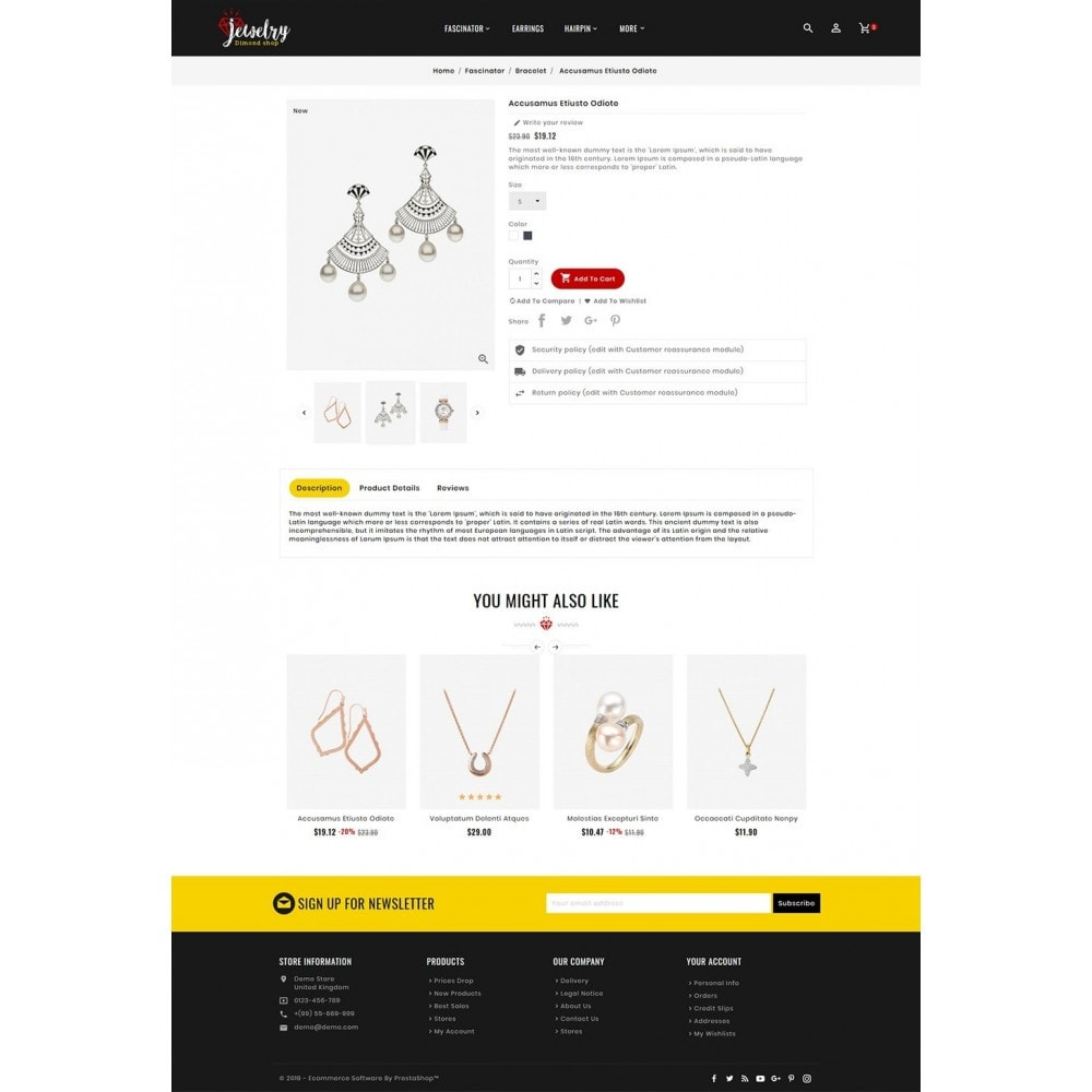 theme - Ювелирные изделия и Аксессуары - Jewelry Imitation - Diamond Shop - 5