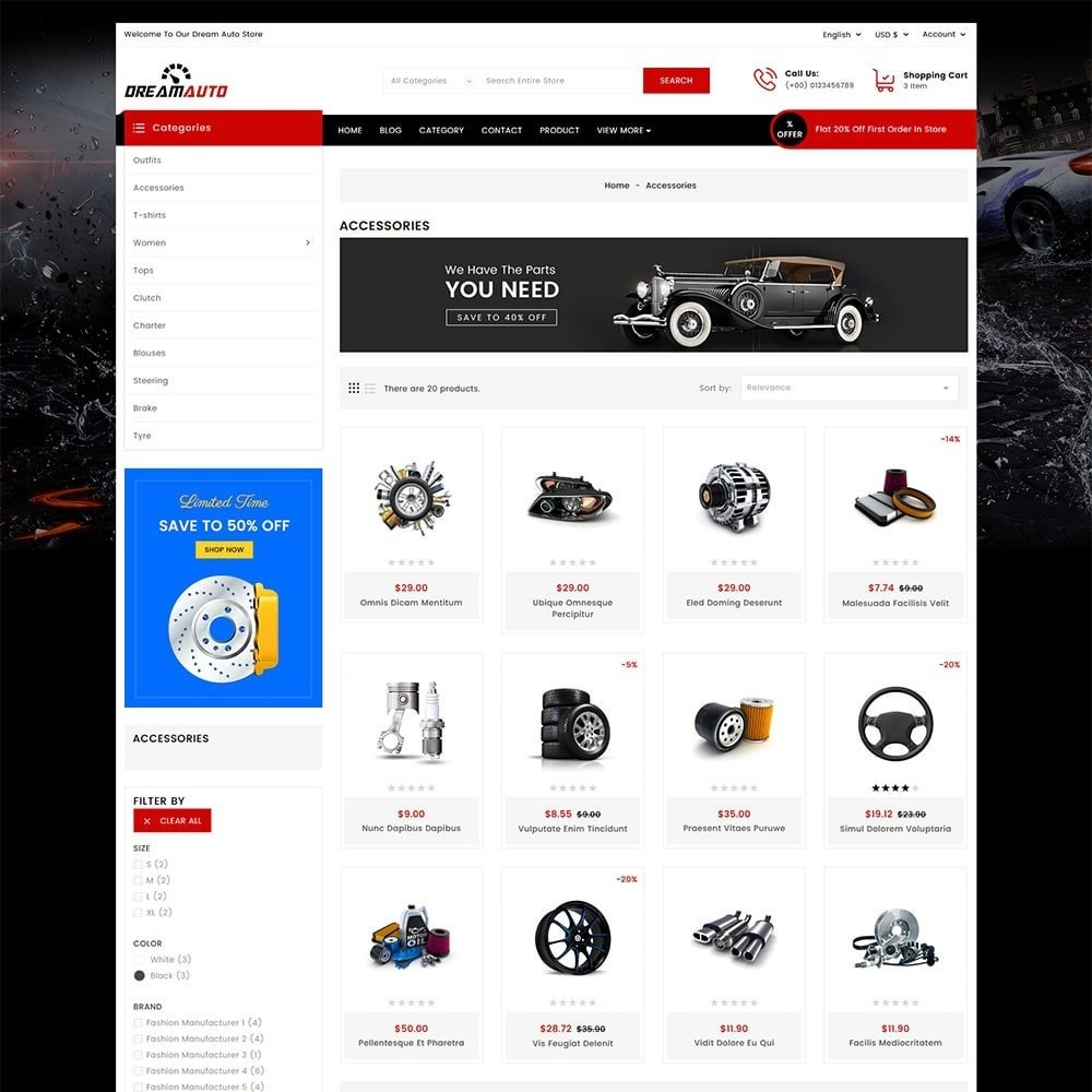 theme - Automotive & Cars - Dream Auto - 4
