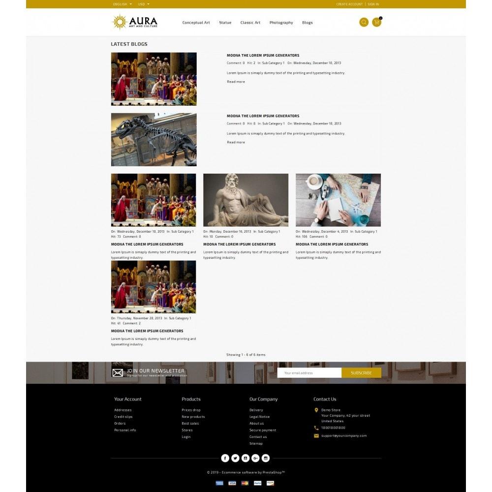theme - Arte & Cultura - Aura - Art & Culture Store - 9