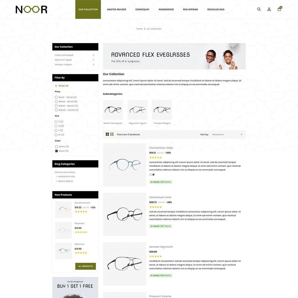theme - Electronics & Computers - Noor - The Eyeglass - 5