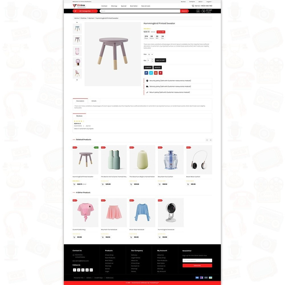 theme - Elettronica & High Tech - Flinterex - The MultiStore Theme - 5