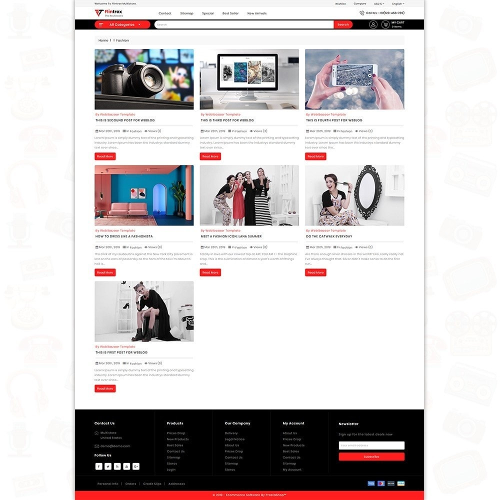 theme - Elettronica & High Tech - Flinterex - The MultiStore Theme - 6