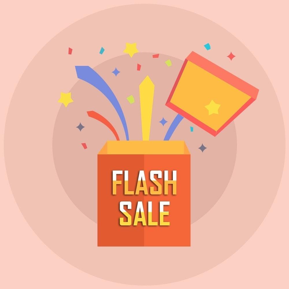 module - Закрытых и рекламных распродаж - Knowband - Flash Sale Countdown Timer - 1