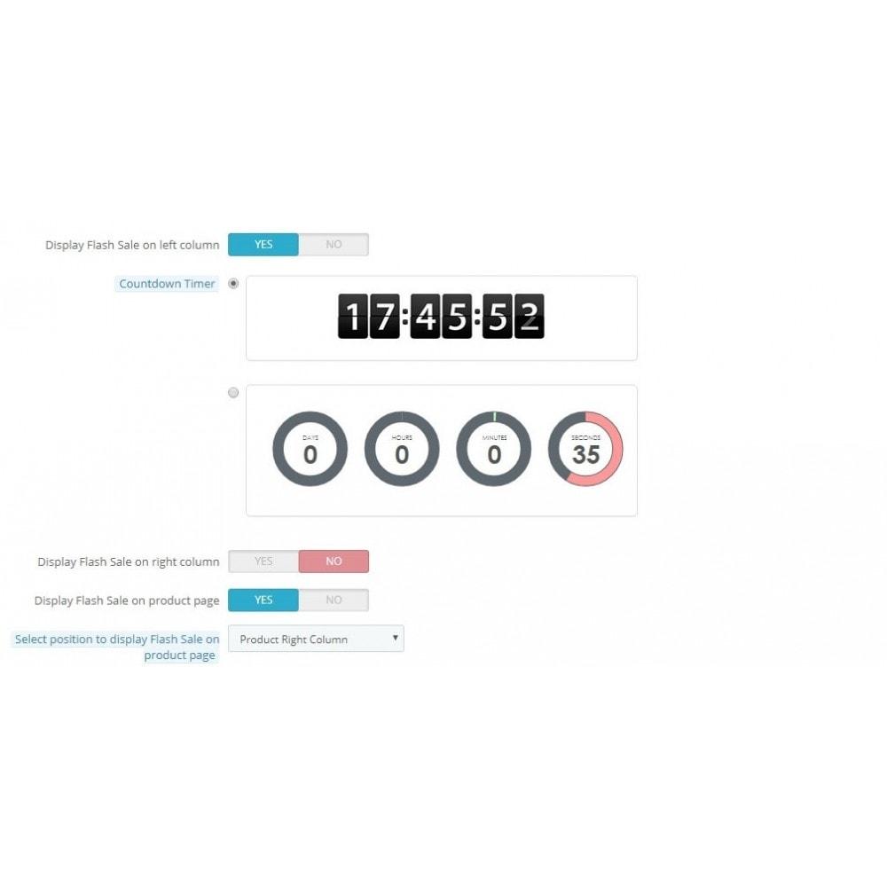 module - Закрытых и рекламных распродаж - Knowband - Flash Sale Countdown Timer - 8