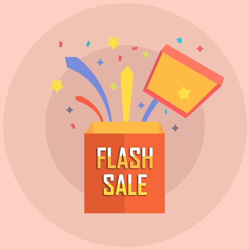 module - Ventas Privadas y Ventas Flash - Knowband - Contador de cuenta regresiva de venta flash - 1