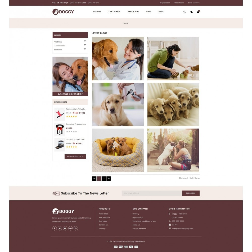 theme - Animais - Doggy - Pets Store - 9