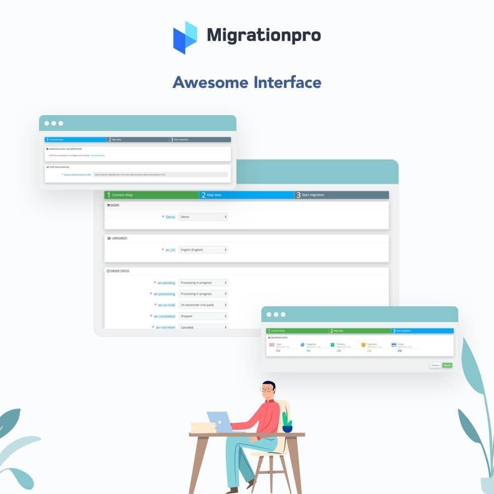 module - Datenmigration & Backup - MigrationPro: Zen Cart to PrestaShop Migration Tool - 6