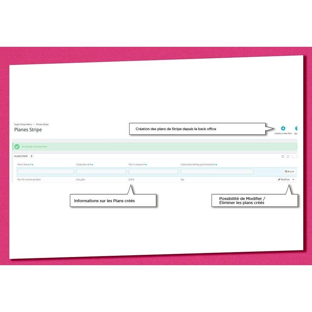 module - Paiement récurrent (abonnement) - Super Stripe - 4