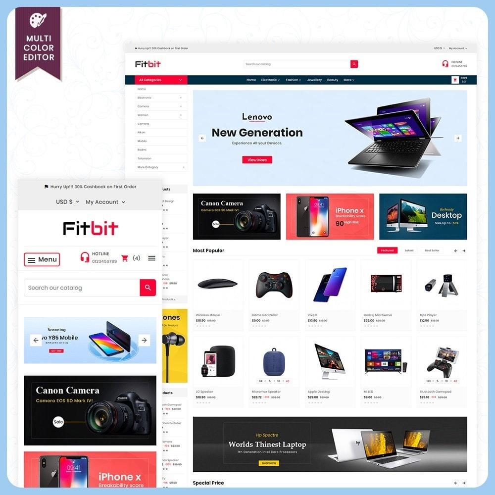 theme - Electronics & Computers - Fitbit Electronics Store - 1
