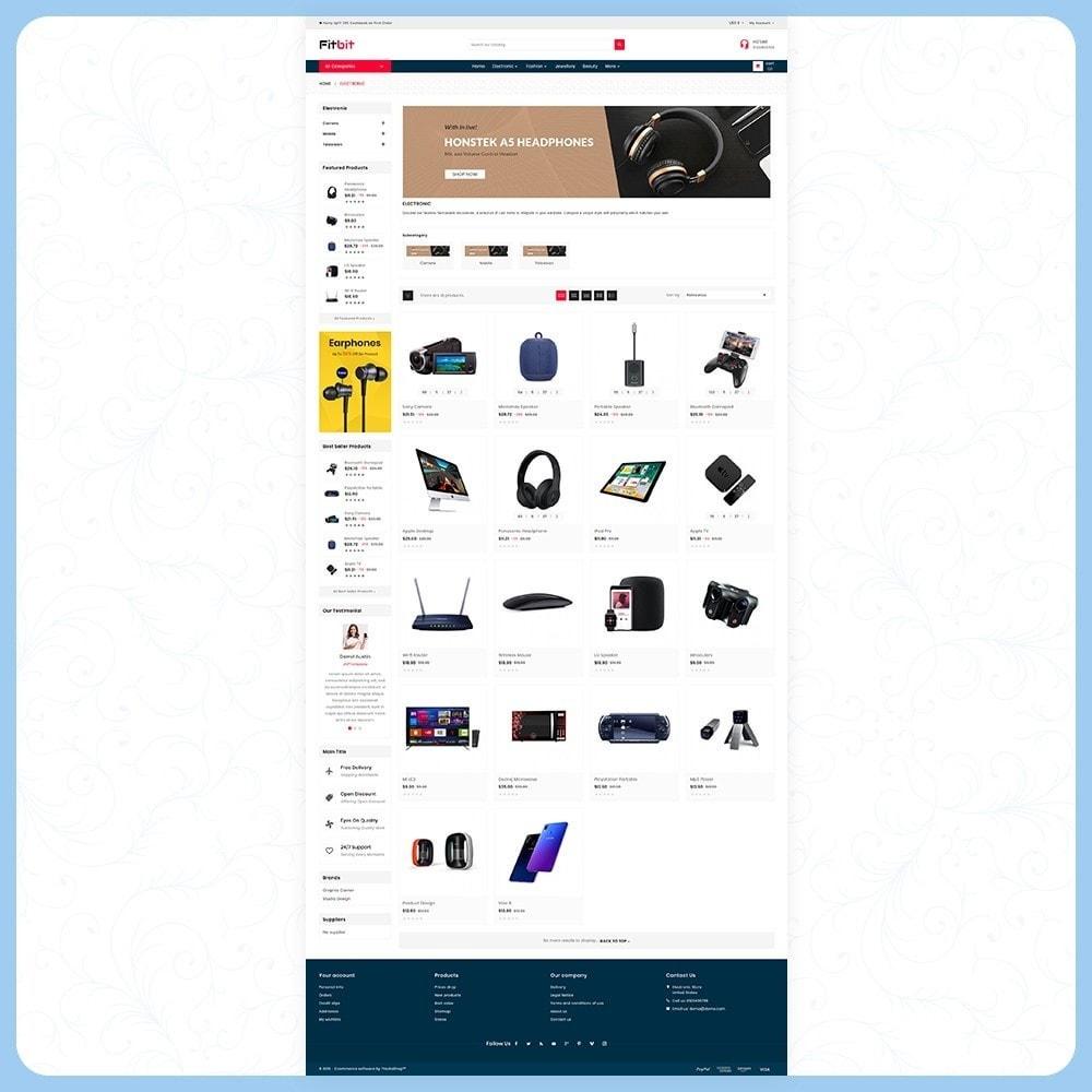 theme - Electronics & Computers - Fitbit Electronics Store - 3