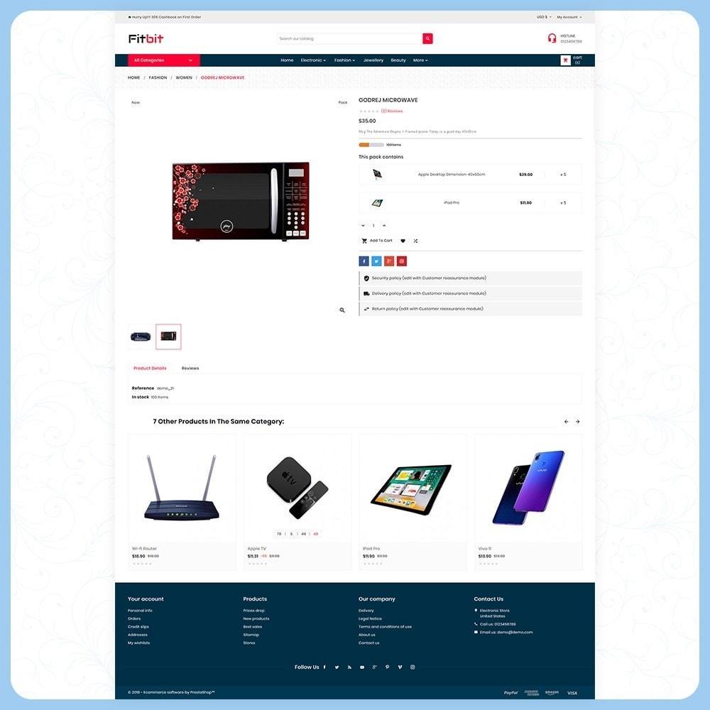 theme - Electronics & Computers - Fitbit Electronics Store - 4