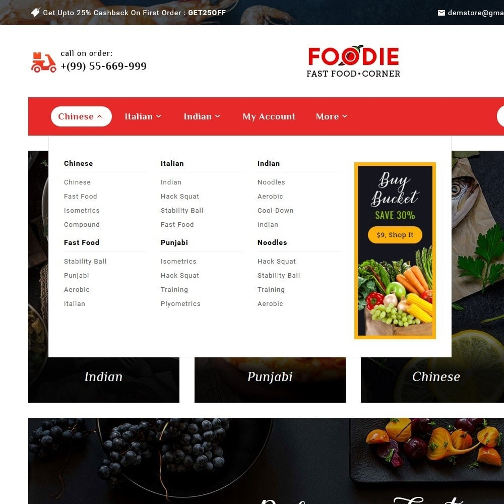 theme - Food & Restaurant - Foodie - Fast Food Corner - 9