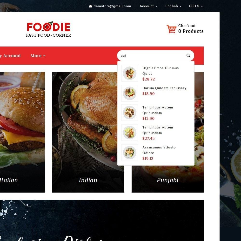 theme - Food & Restaurant - Foodie - Fast Food Corner - 10