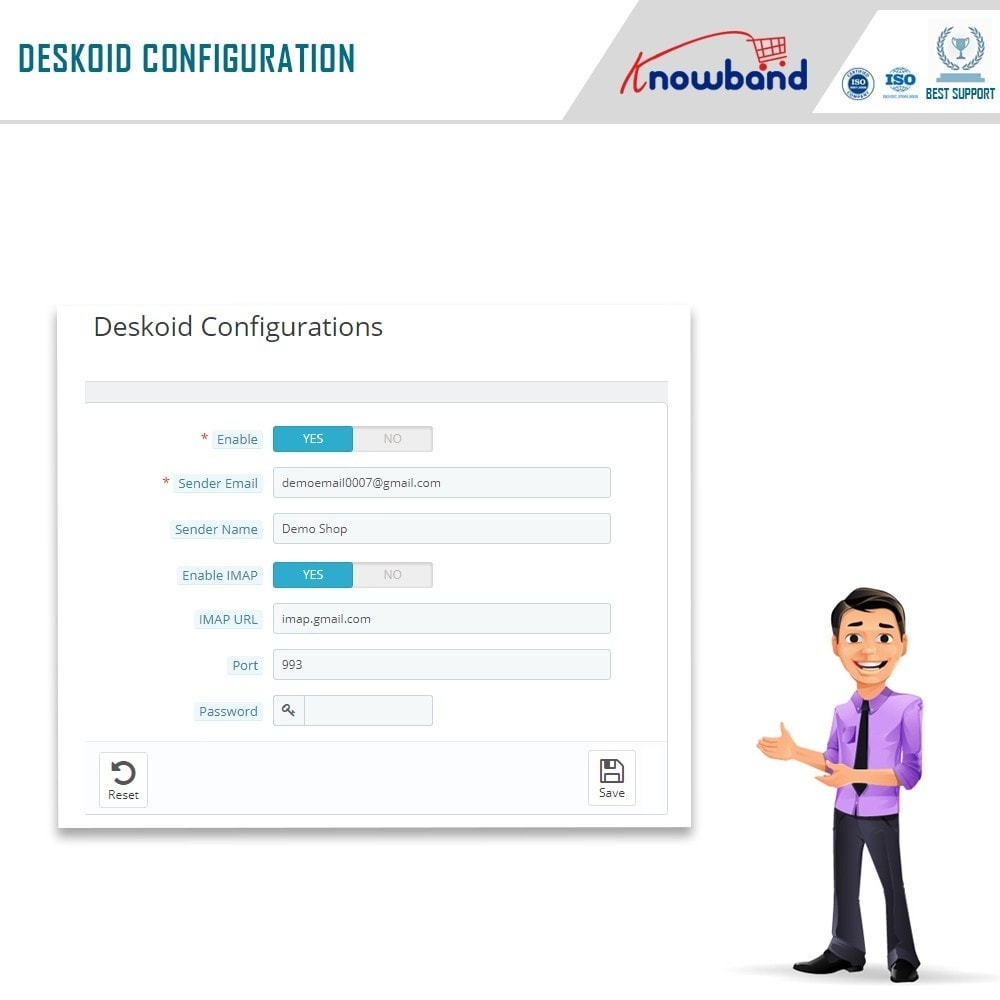 module - Servizio post-vendita - Knowband - Deskoid Helpdesk - 5