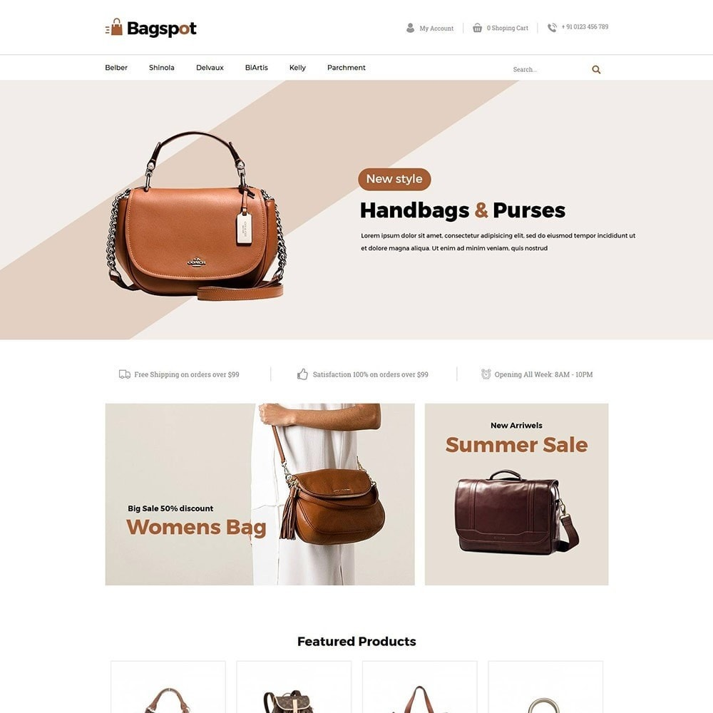 theme - Moda & Obuwie - Bagspot - Bag Fashion Store - 3