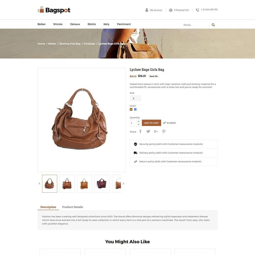 theme - Moda & Obuwie - Bagspot - Bag Fashion Store - 4