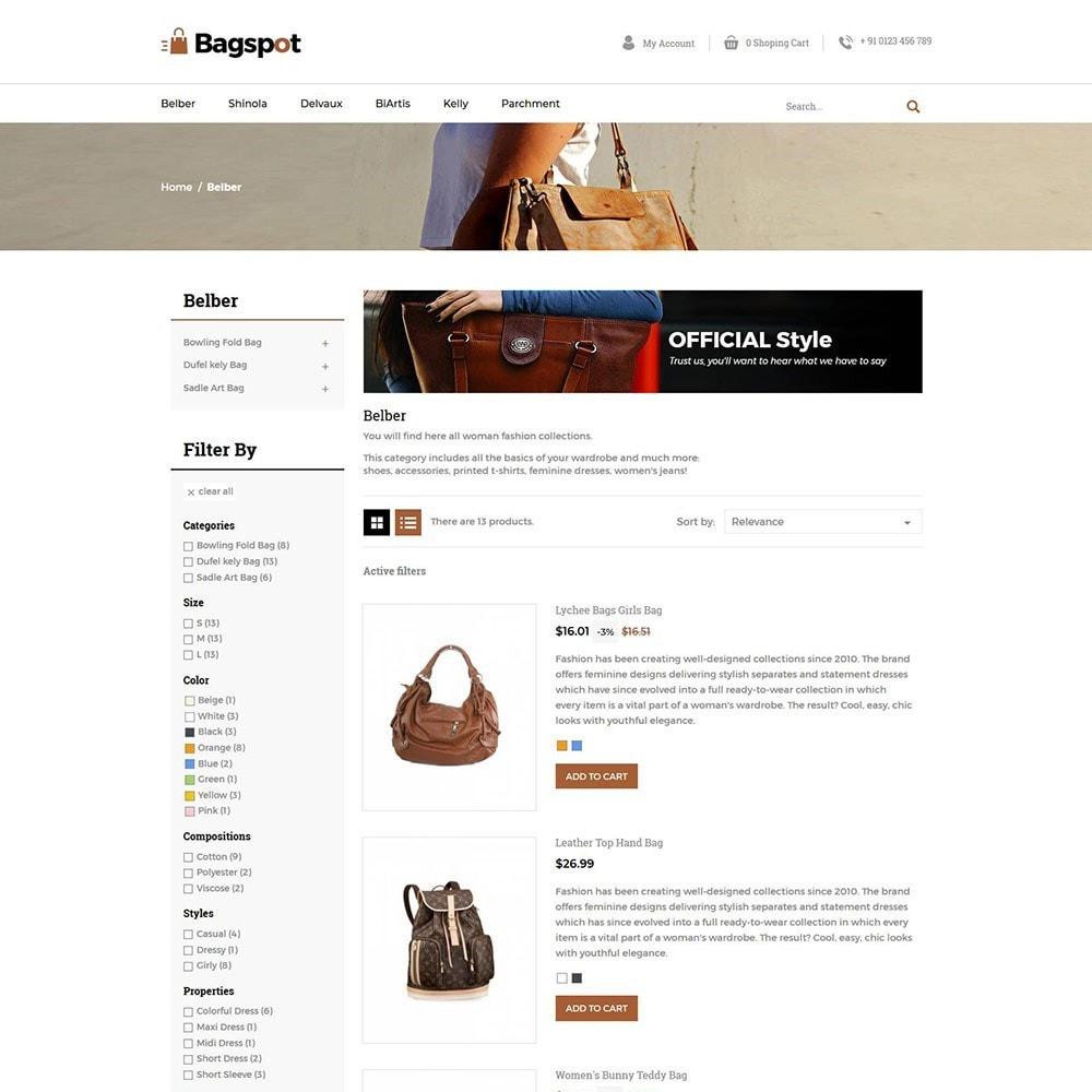 theme - Moda & Calçados - Bagspot - Bolsa de Moda - 6