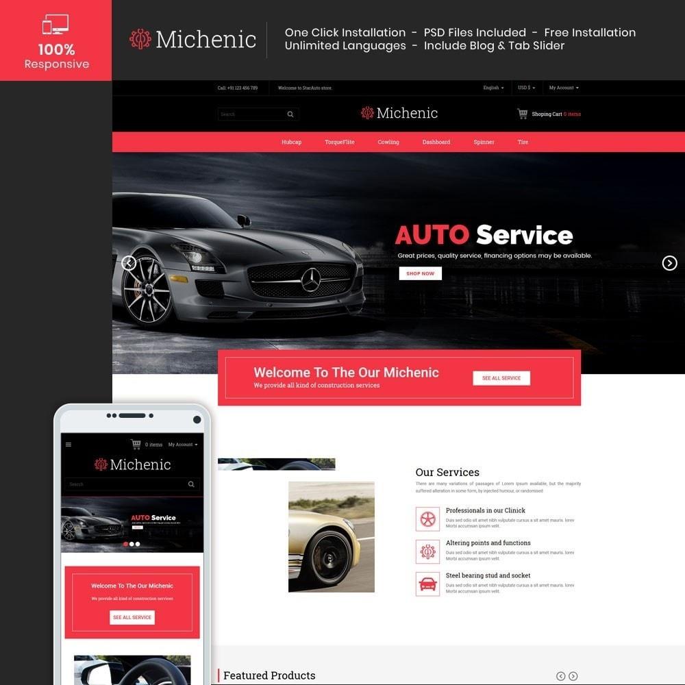 theme - Auto & Moto - Michenic Auto - Negozio di attrezzi per auto - 2