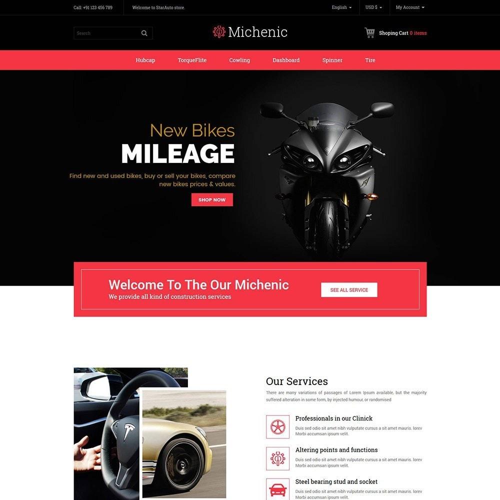 theme - Auto & Moto - Michenic Auto - Negozio di attrezzi per auto - 3