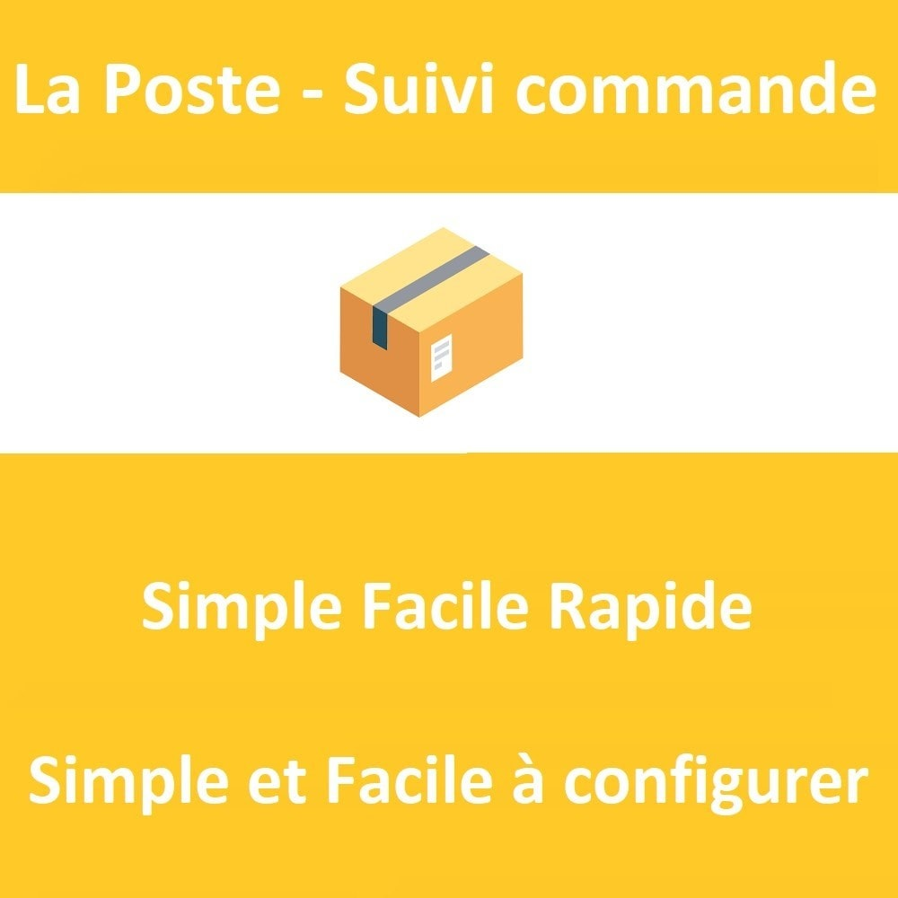 module - Order Management - La Poste - Automatic tracking of your orders - 1