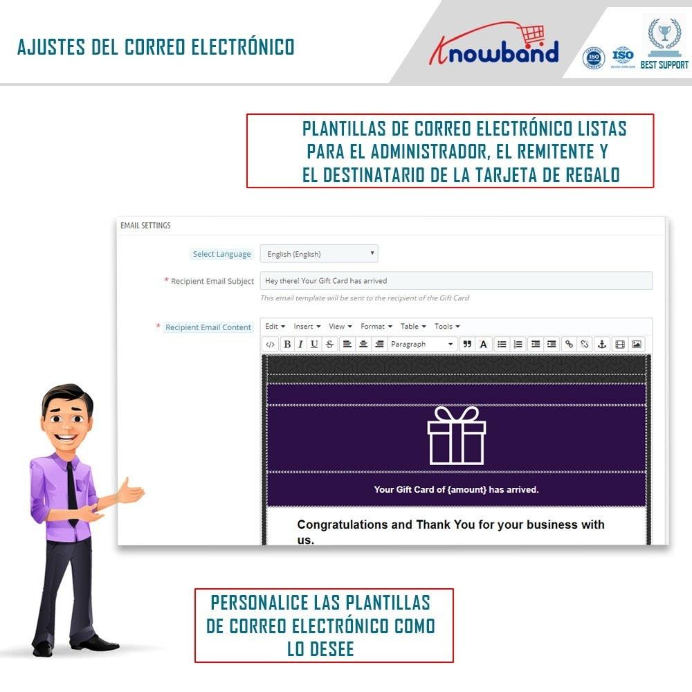 module - Lista de deseos y Tarjeta regalo - Knowband - Gift card manager - 3