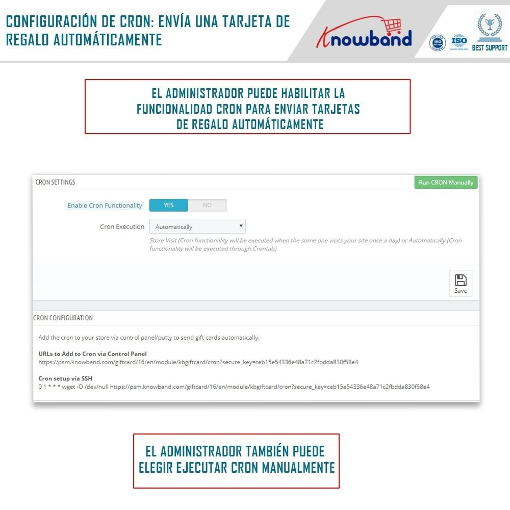 module - Lista de deseos y Tarjeta regalo - Knowband - Gift card manager - 4