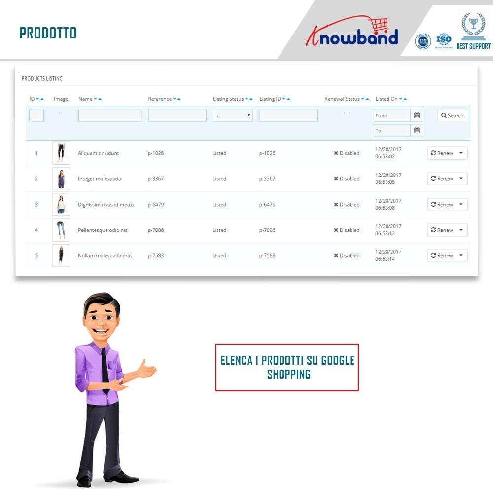 module - Comparatori di prezzi - Google Shopping (Google Merchant Centre) - 4