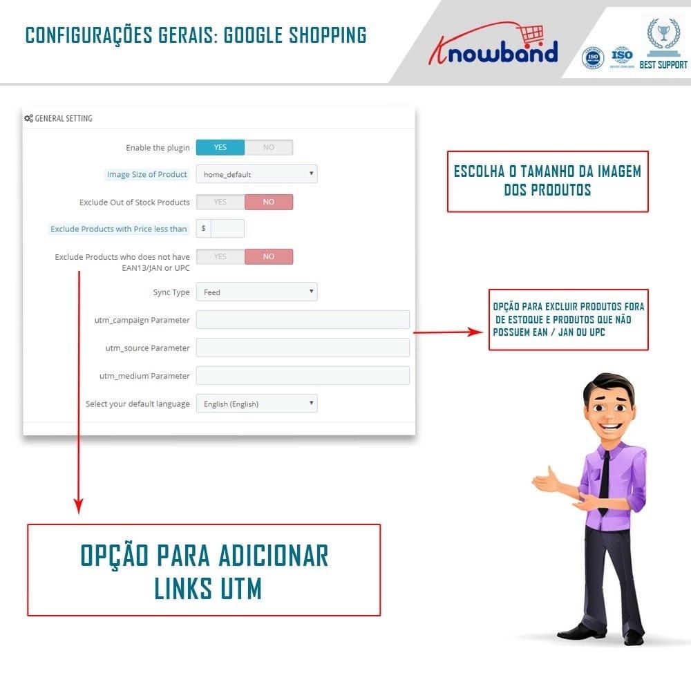module - Comparadores de preços - Google Shopping (Google Merchant Centre) - 2