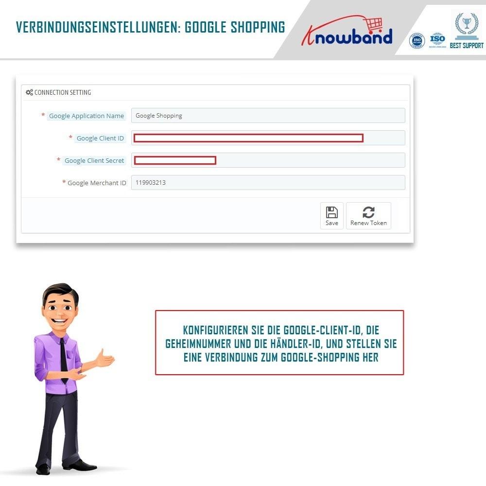 module - Preisvergleiche - Google Shopping (Google Merchant Centre) - 1