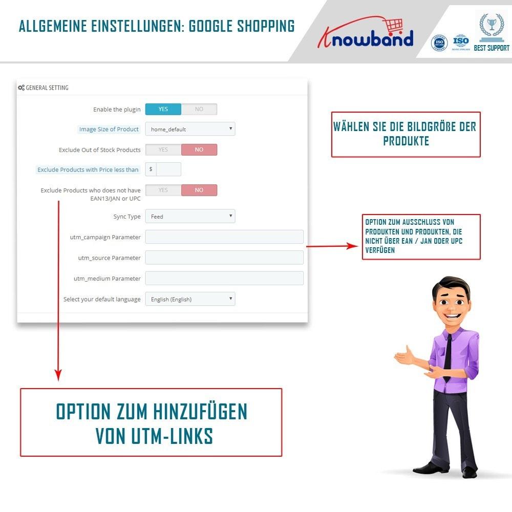 module - Preisvergleiche - Google Shopping (Google Merchant Centre) - 2